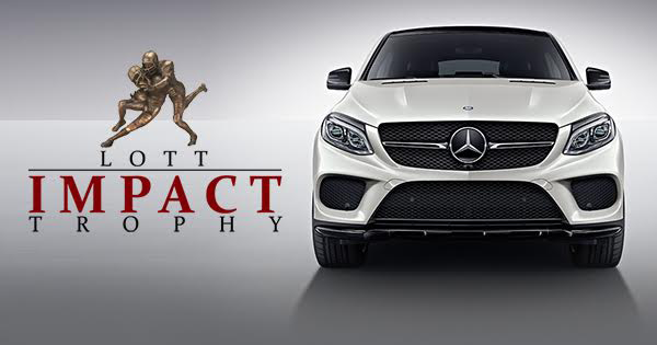 Mercedes benz usa extends partnership with the lott impact trophy lott impact trophy mercedes benz usa thecheapjerseys Gallery