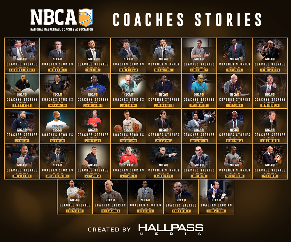 Nbca Coaches Stories Platform Created By Hallpass Media Hallpass Media Marketing Agency Orange County